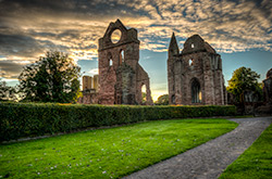 HDR der Arbroath Abbey